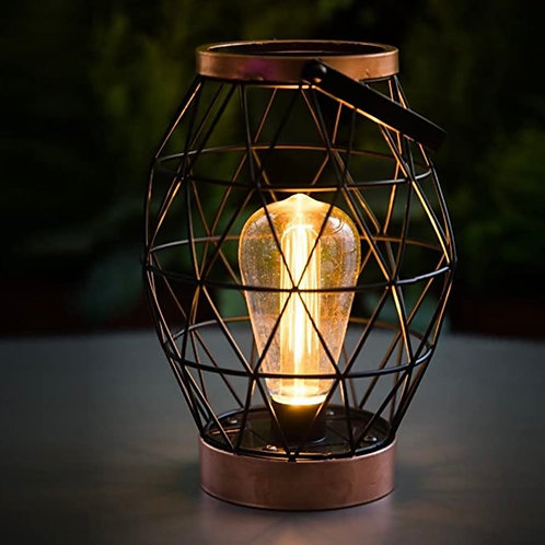 Noma Battery Operated Geo Table Lantern