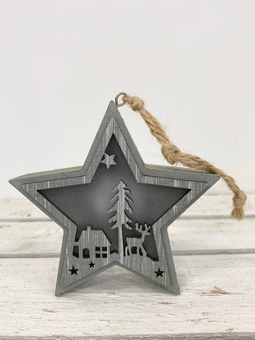 LED Hanging Christmas Star