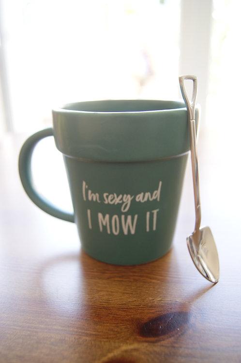 I'm Sexy And I Mow It Mug