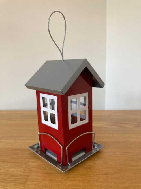 Hanging Bird Seed Feeder House (2 colours available)