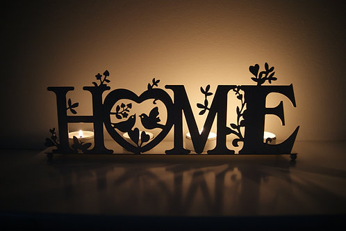 Metal Home Tealight Holder