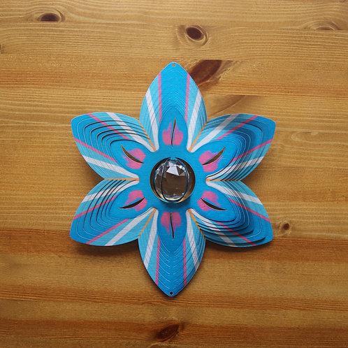 Flower Crystal Garden Spinner