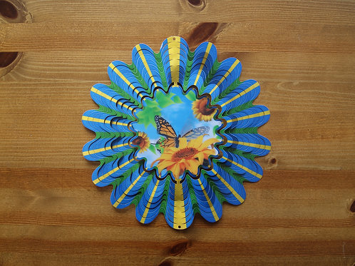 Animated Butterfly Garden Spinner