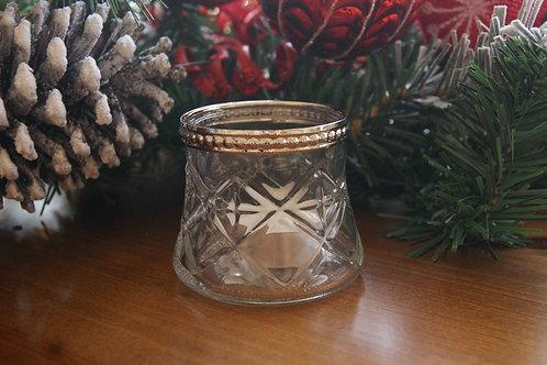 Small Vintage Style Tealight Holder