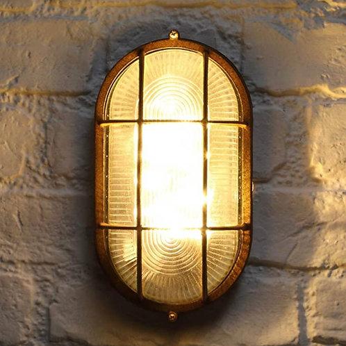 Noma Solar Oval Bulkhead Light