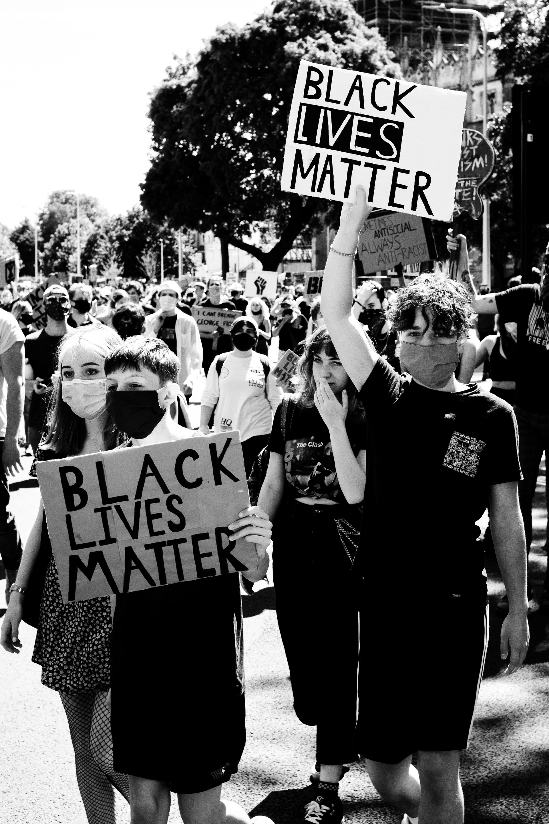 BLM - Kids on the march