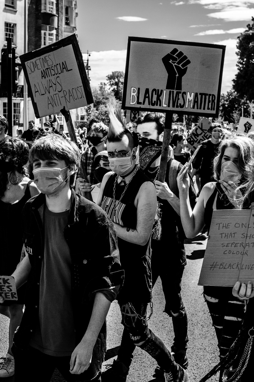 BLM - Punks against Racism I
