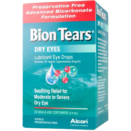 Alcon Bion Tears Moderate to Severe dry eye