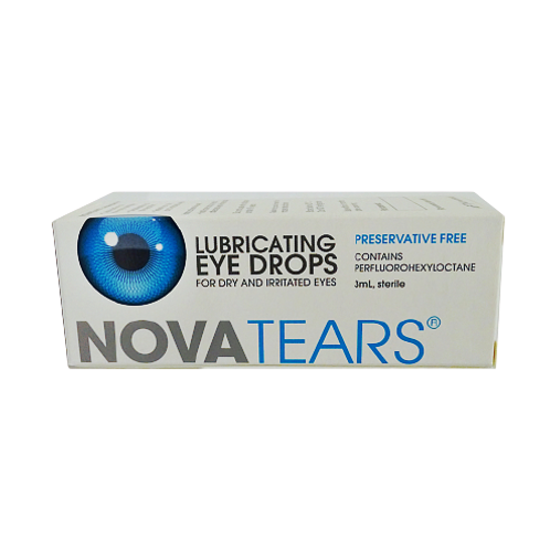 Novatears Lubricating Eye Drops 3ml