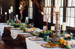 our wedding table 6