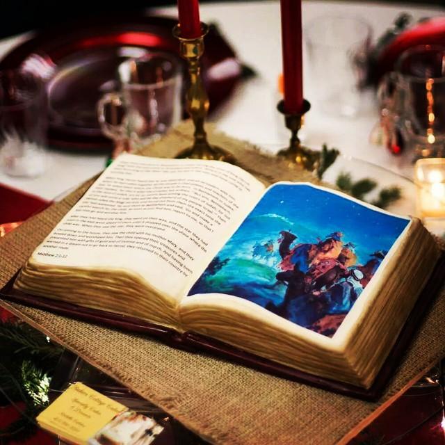 Christmas Bible Cake