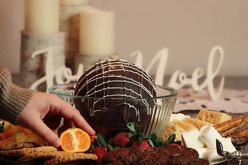 Chocolate Fondue Bomb Kit, Medium