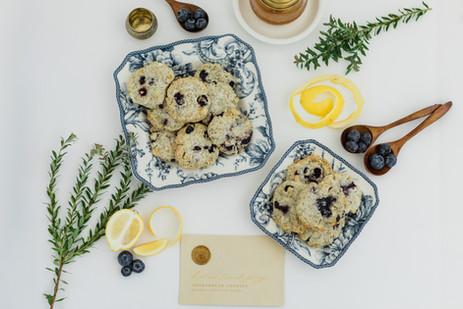 Lemon & Blueberry Earl Grey Short Bread