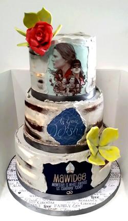 As You Wish Grooms Cake