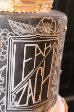 Vintage Broaches and Blackboards