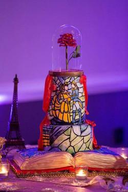 Beauty and the Beast Cake 9