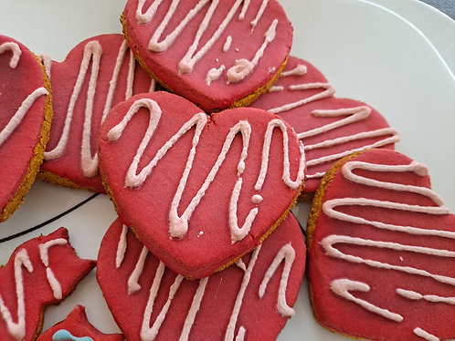 Large Heart Cookies