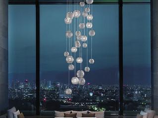 Belleza en suspensión: Iluminación para cielos altos.