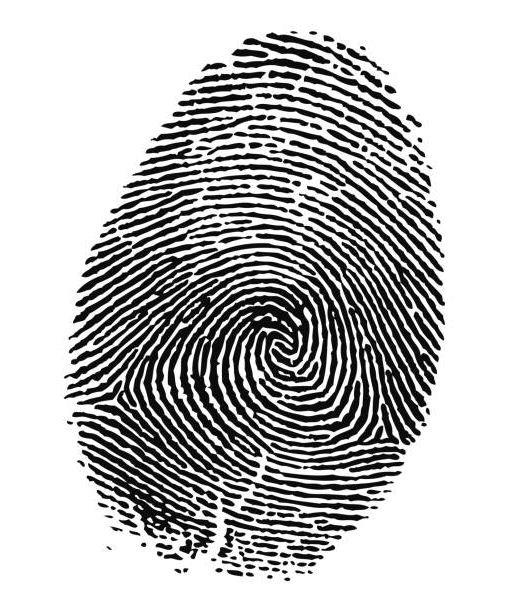 Pendant- Thumbprint