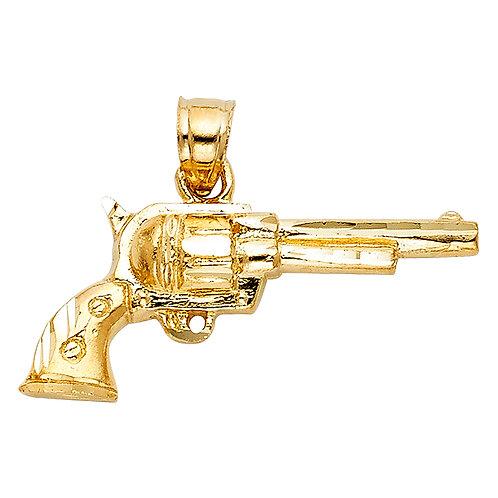 14KY PISTOL GUN PENDANT