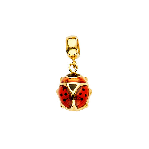 14KY Lady Bug Charm for Mix&Match Bracelet