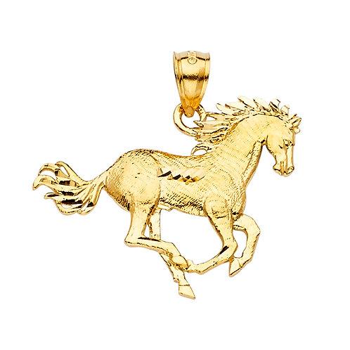14KY Horse Pendant