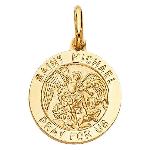 14KY ST. MICHAEL PENDANT (PT282)