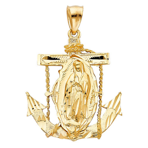 14KY OUR LADY OF GUADALUPE PENDANT