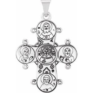 Sterling Silver Dagmar Cross Pendant without Packaging