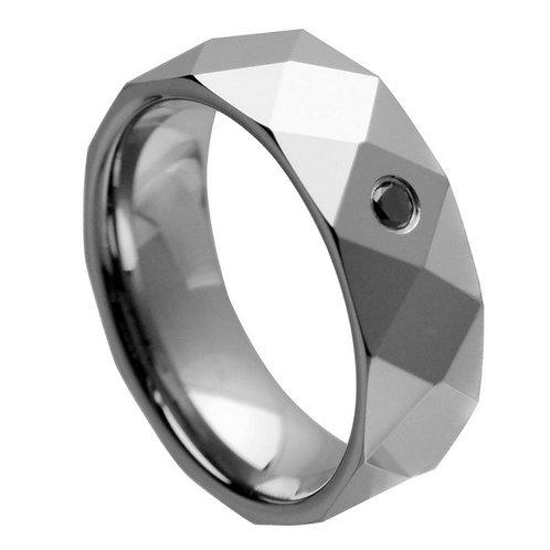 0.07ct Black Diamond - 8mm