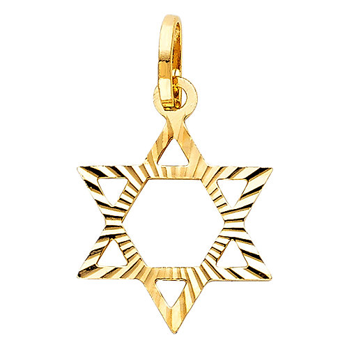 14KY STAR OF DAVID PENDANT