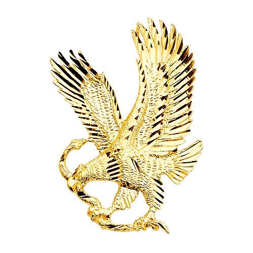 14KY Eagle Pendant