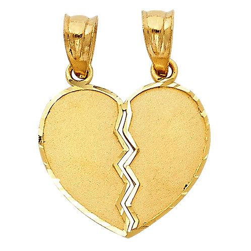 14KY HEART PENDANT (PT415)
