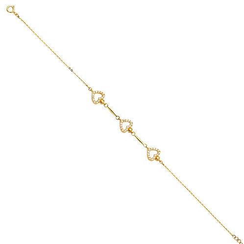 14KY Light Chain Bracelet