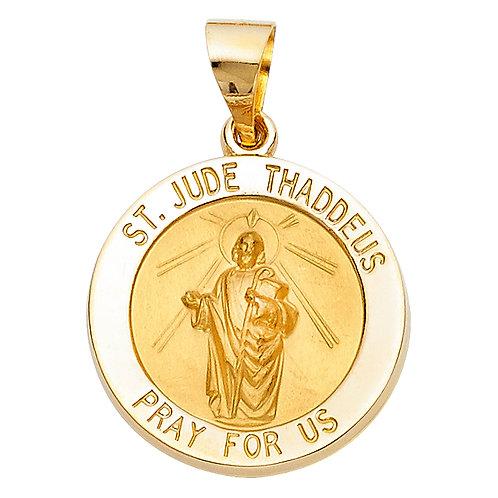 14KY ST. JUDE THADDEUS PENDANT