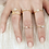 Thumbnail: 925 Gold Plated Open Snake Ring with CZ