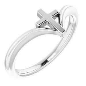 Sterling Silver Cross Ring