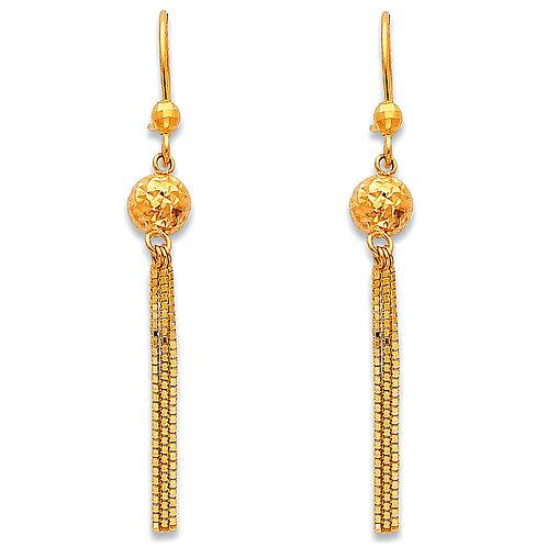 14KY Hanging Earrings