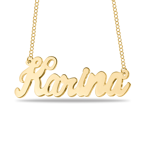 YOUR OWN HANDWRITING NAME NECKLACE