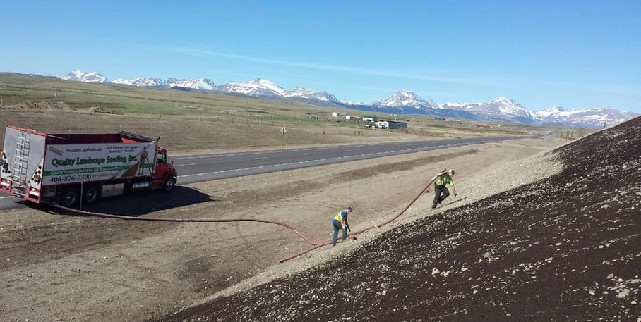 Browning, MT compost application.