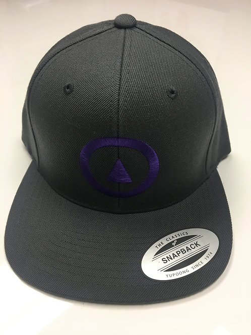 classic gray & purple