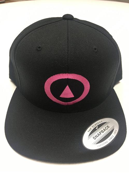 classic pink on black
