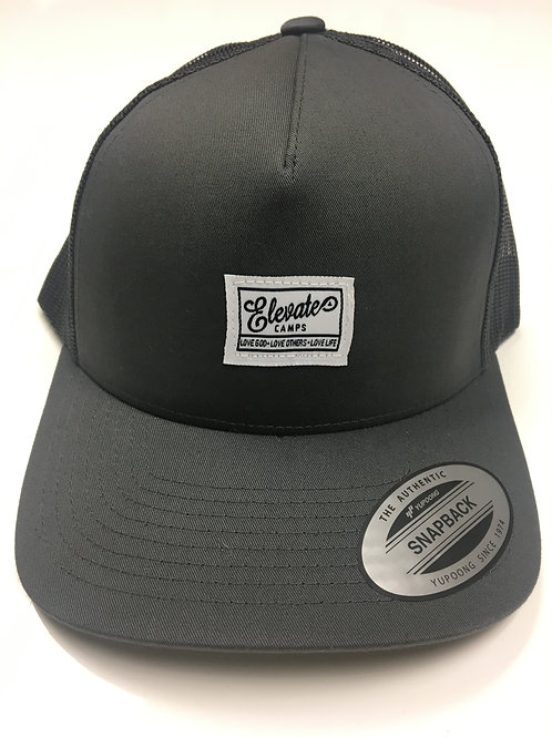 trucker tag gray