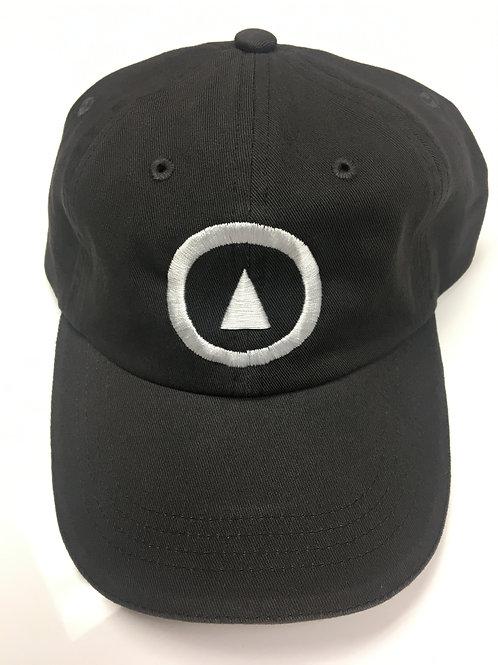 classic logo dad hat charcoal