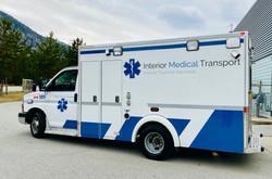 Interior medical transport