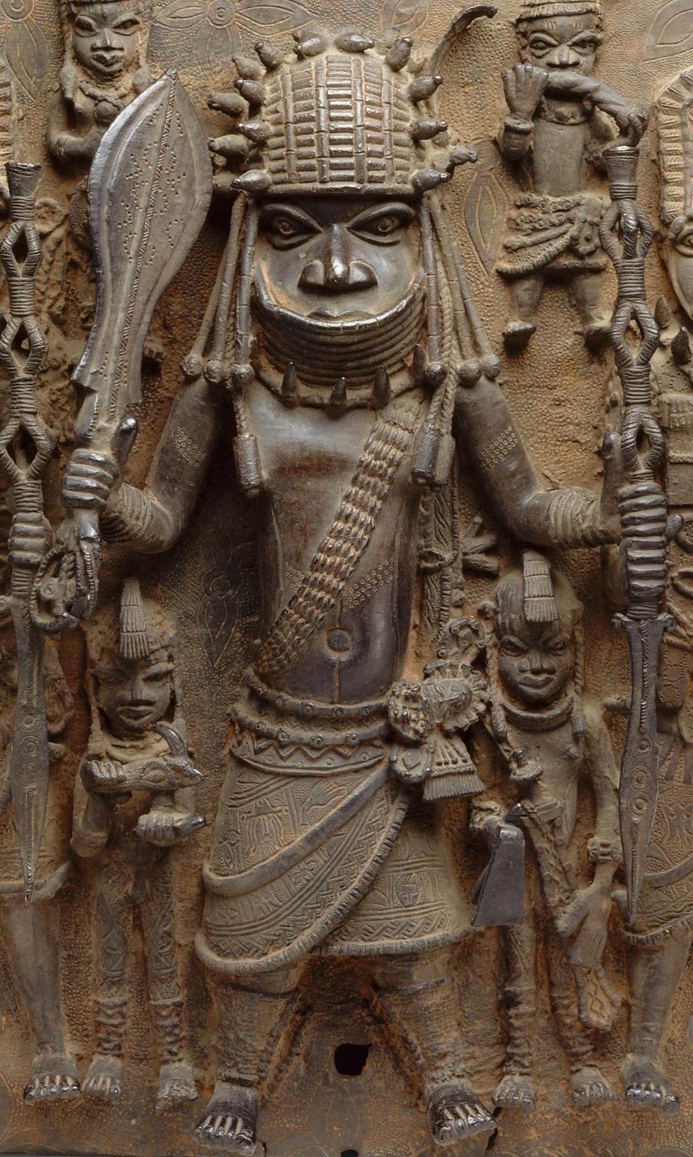 Warrior Chief, 16th-17th Century of Benin City, Nigeria