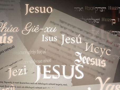 Translation of Proper Names in the Bible
