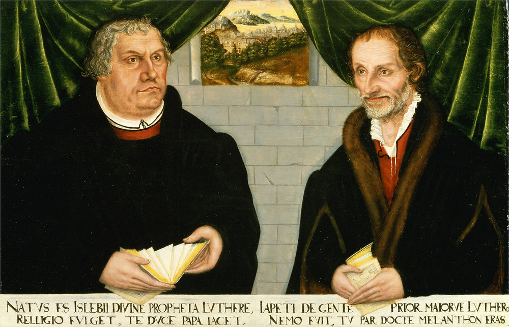 Luther and Melanchthon