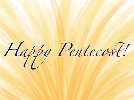 Many Languages, One God (or why I love Pentecost Sunday)