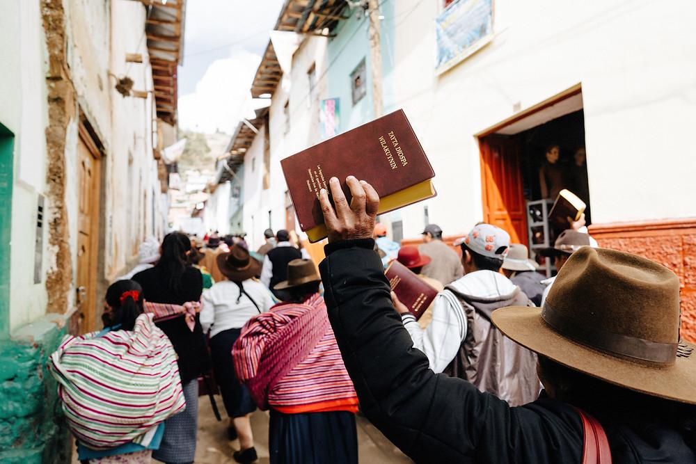 Bible Translation Dedication Celebration in Peru